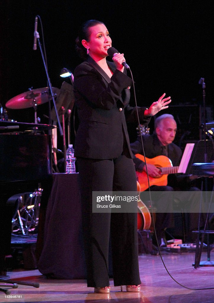 Lea Salonga performs in 'Lea Salonga: The Journey Continues on Broadway' on Broadway at The Town Hall on May 5, 2012 in New York City.