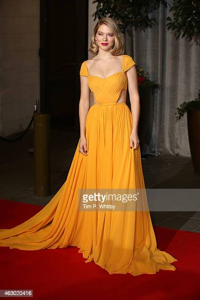 Lea Seydoux attends the after party for the EE British Academy Film Awards at The Grosvenor House Hotel on February 8 2015 in London England