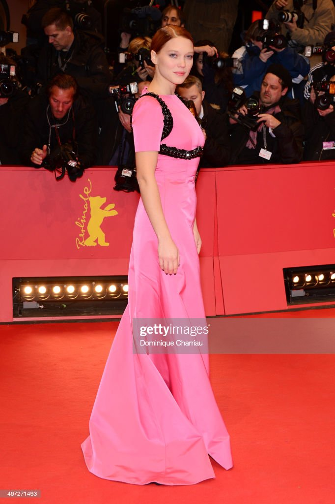 Lea Seydoux attends 'The Grand Budapest Hotel' Premiere during the 64th Berlinale International Film Festival at Berlinale Palast on February 6, 2014 in Berlin, Germany.