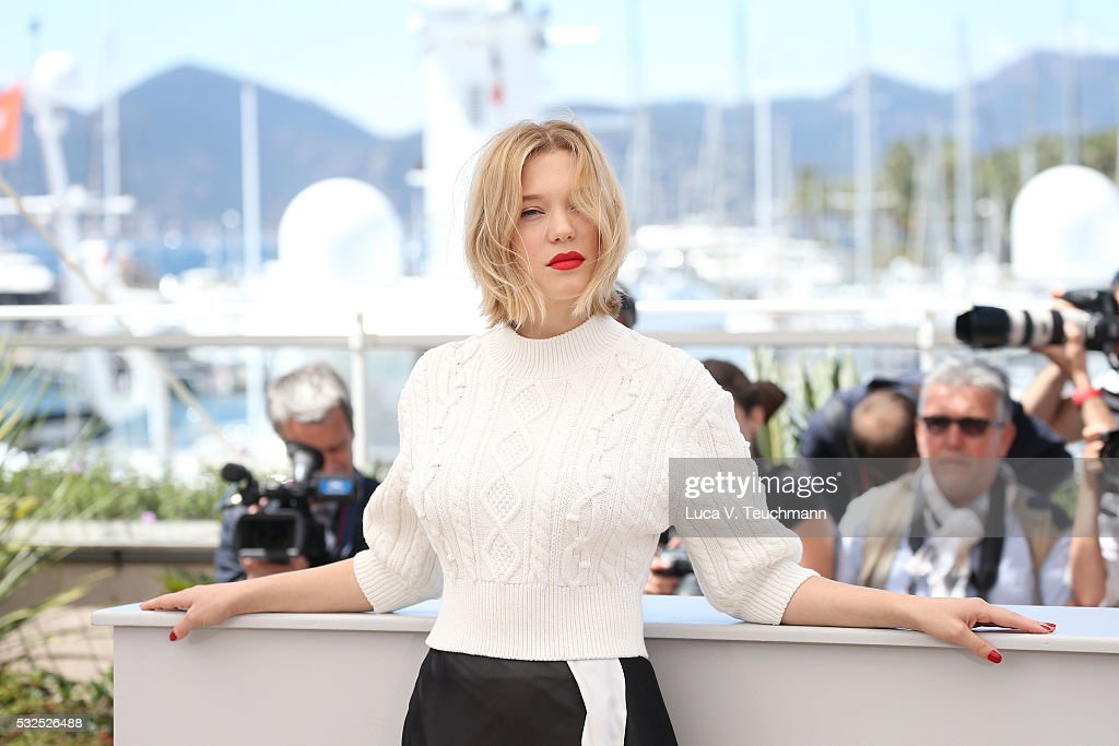 Lea Seydoux attends the 'It's Only The End Of The World (Juste La Fin Du Monde)' Photocall during the 69th annual Cannes Film Festival at the Palais des Festivals on May 19, 2016 in Cannes, France.