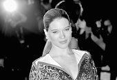 Lea Seydoux attends the 'It's Only The End Of The World ' Premiere during the 69th annual Cannes Film Festival at the Palais des Festivals on May 19...