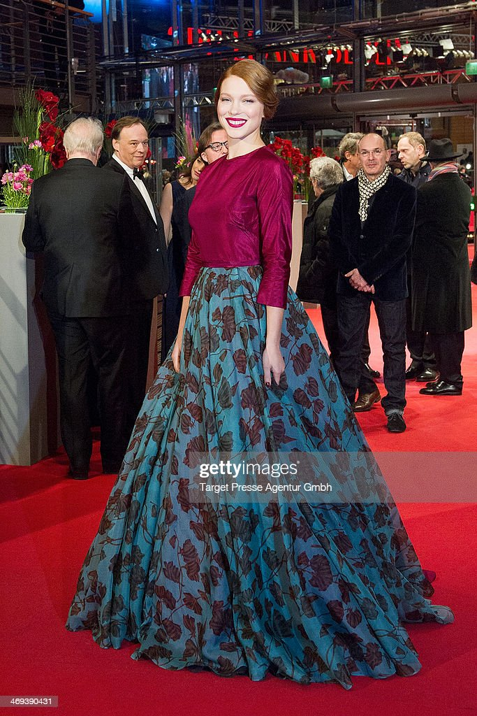 <a gi-track='captionPersonalityLinkClicked' href=/galleries/search?phrase=Lea+Seydoux&family=editorial&specificpeople=4398974 ng-click='$event.stopPropagation()'>Lea Seydoux</a> attends the 'La belle et la bete' (Die Schoene und das Biest) premiere during 64th Berlinale International Film Festival at Berlinale Palast on February 14, 2014 in Berlin, Germany.