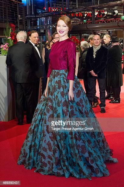 Lea Seydoux attends the 'La belle et la bete' premiere during 64th Berlinale International Film Festival at Berlinale Palast on February 14 2014 in...