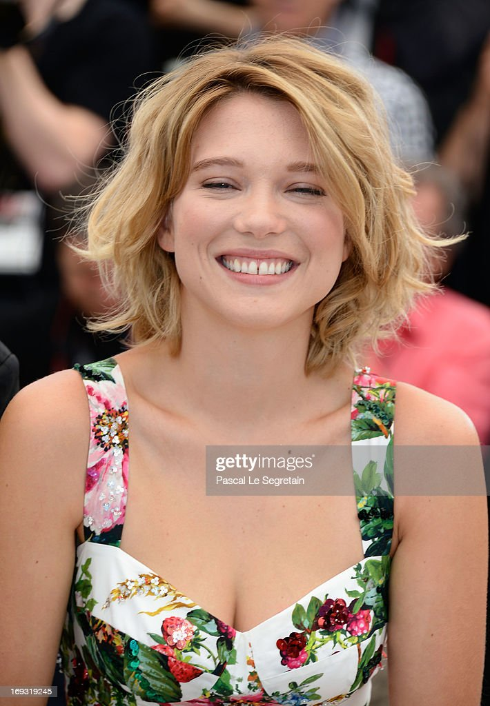 Lea Seydoux attends the Photocall for 'La Vie D'Adele' during The 66th Annual Cannes Film Festival at the Palais des Festival on May 23, 2013 in Cannes, France.