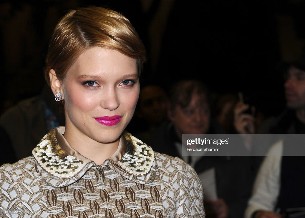 Lea Seydoux attends the Premiere of 'Sister' during the 56th BFI London Film Festival at Curzon Cinema Mayfair on October 12 2012 in London England