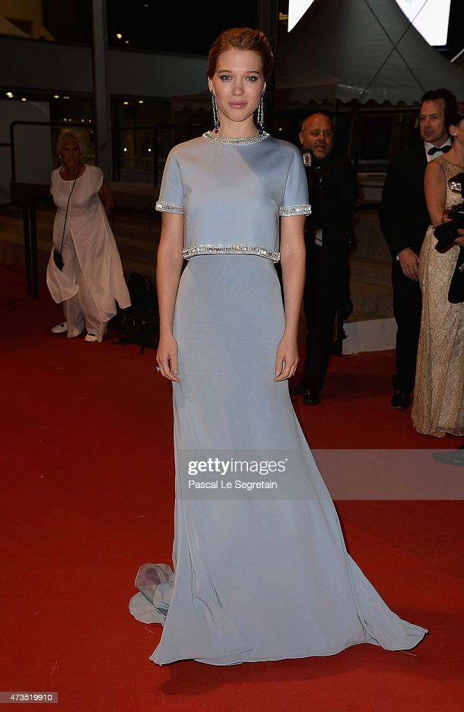 <a gi-track='captionPersonalityLinkClicked' href=/galleries/search?phrase=Lea+Seydoux&family=editorial&specificpeople=4398974 ng-click='$event.stopPropagation()'>Lea Seydoux</a> attends the Premiere of 'The Lobster' during the 68th annual Cannes Film Festival on May 15, 2015 in Cannes, France.