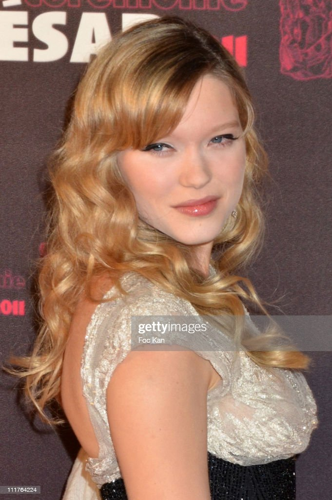Lea Seydoux attends the Red Carpet Arrivals - Cesar Film Awards 2011 at Theatre du Chatelet on February 25, 2011 in Paris, France.