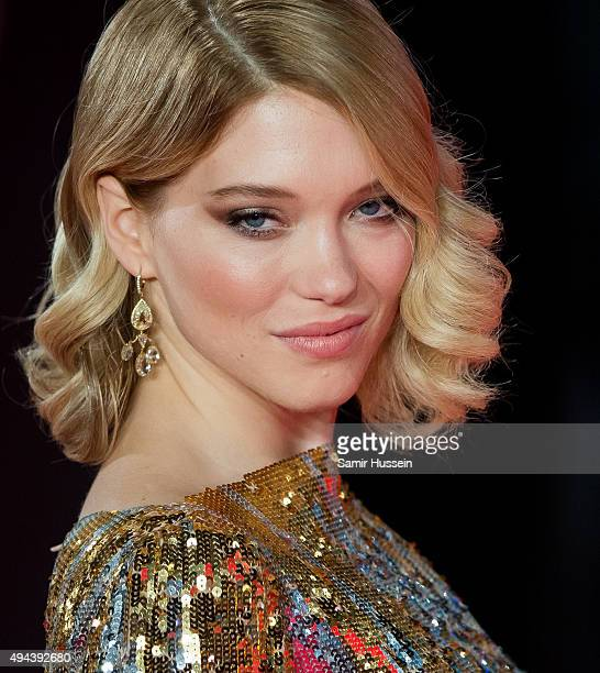 Lea Seydoux attends the Royal Film Performance of 'Spectre' at Royal Albert Hall on October 26 2015 in London England