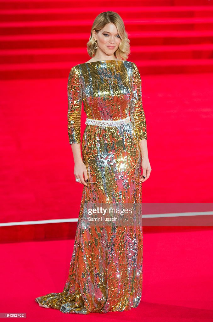 <a gi-track='captionPersonalityLinkClicked' href=/galleries/search?phrase=Lea+Seydoux&family=editorial&specificpeople=4398974 ng-click='$event.stopPropagation()'>Lea Seydoux</a> attends the Royal Film Performance of 'Spectre' at Royal Albert Hall on October 26, 2015 in London, England.