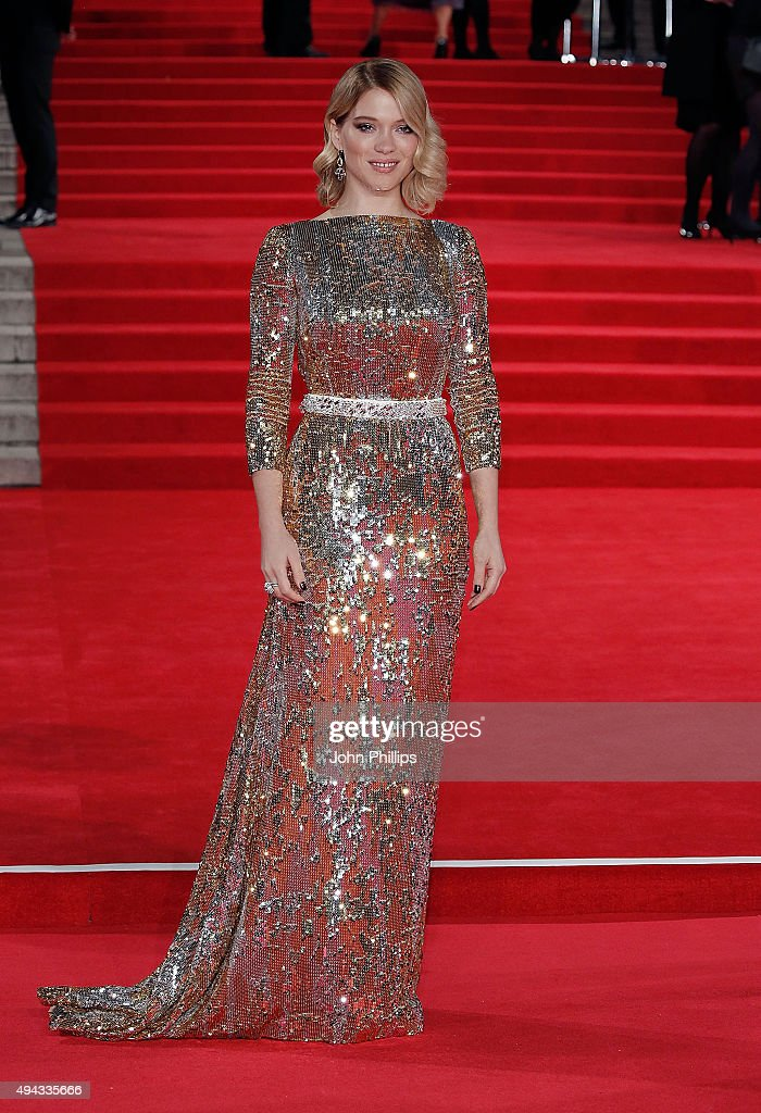 <a gi-track='captionPersonalityLinkClicked' href=/galleries/search?phrase=Lea+Seydoux&family=editorial&specificpeople=4398974 ng-click='$event.stopPropagation()'>Lea Seydoux</a> attends the Royal Film Performance of 'Spectre'at Royal Albert Hall on October 26, 2015 in London, England.