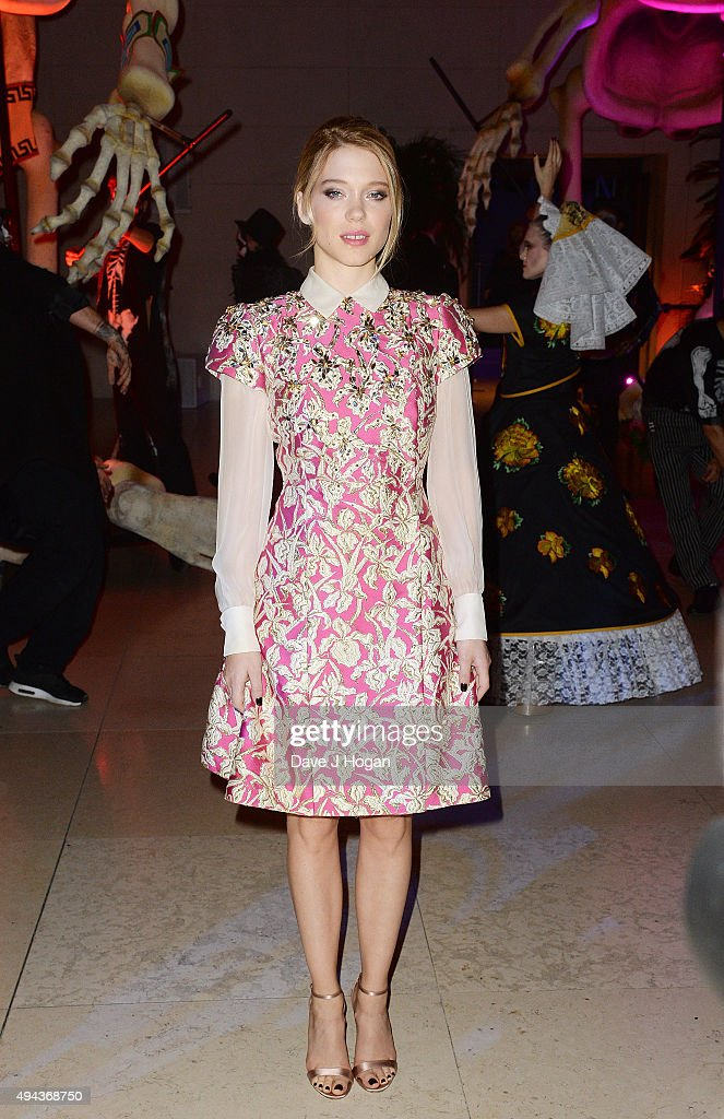 <a gi-track='captionPersonalityLinkClicked' href=/galleries/search?phrase=Lea+Seydoux&family=editorial&specificpeople=4398974 ng-click='$event.stopPropagation()'>Lea Seydoux</a> attends the Royal World Premiere after party of Spectre at The British Museum on October 26, 2015 in London, England.