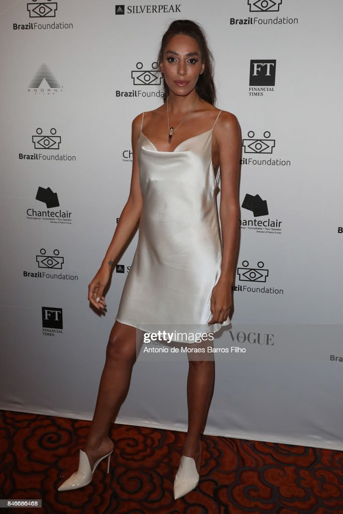 Lea T attends the 2017 Brazil Foundation Gala on September 13, 2017 in New York City.