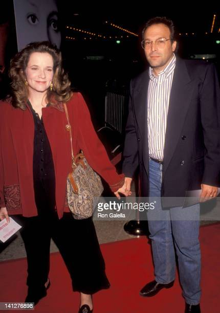 Lea Thompson and Howard Deutch at the Premiere of 'Silence of the Lambs' Cineplex Odeon Cinemas Century City