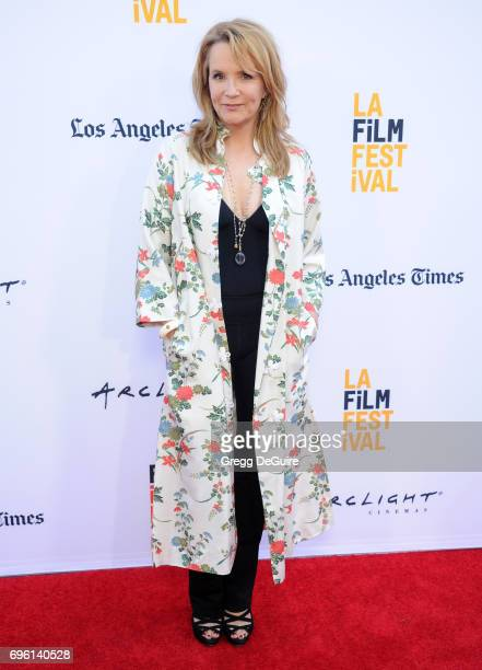 Lea Thompson arrives at the 2017 Los Angeles Film Festival Opening Night Premiere Of Focus Features' 'The Book Of Henry' at Arclight Cinemas Culver...