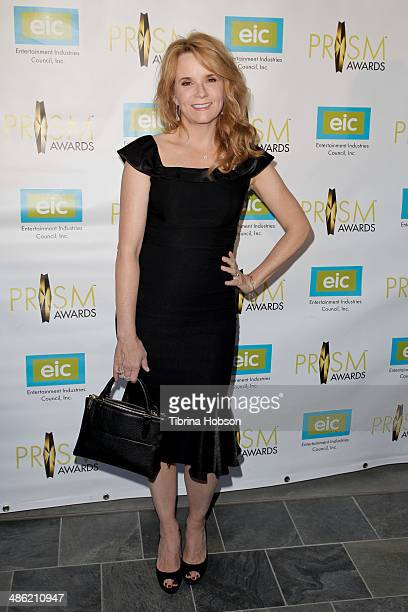 Lea Thompson attends the 18th annual PRISM awards at Skirball Cultural Center on April 22 2014 in Los Angeles California