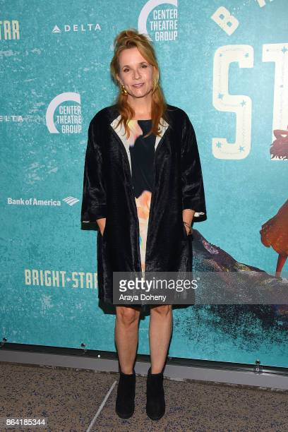 Lea Thompson attends the opening night of 'Bright Star' at Ahmanson Theatre on October 20 2017 in Los Angeles California