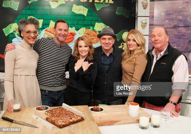 THE CHEW Lea Thompson is the guest today Monday March 6 2017 on ABC's 'The Chew' 'The Chew' airs MONDAY FRIDAY on the ABC Television Network BATALI