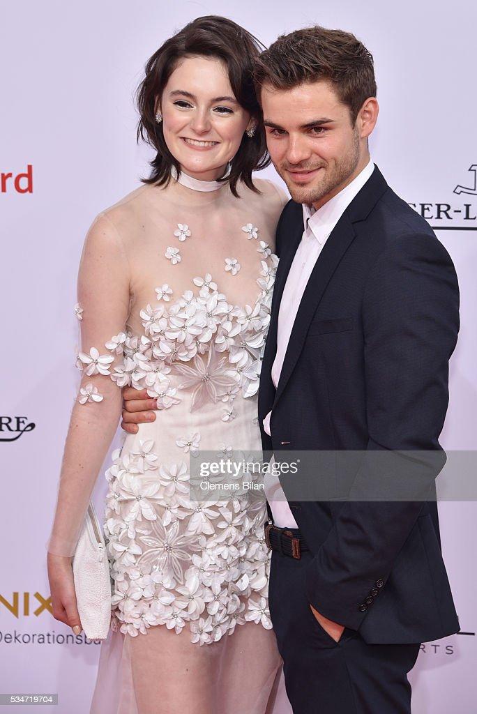 Lea Van Acken and Lucas Schreiber attend the Lola - German Film Award (Deutscher Filmpreis) on May 27, 2016 in Berlin, Germany.