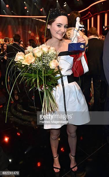 Lea van Acken attend the Bayerischer Filmpreis 2017 at Prinzregententheater on January 20 2017 in Munich Germany
