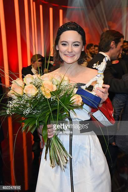 Lea van Acken attends the Bayerischer Filmpreis 2017 at Prinzregententheater on January 20 2017 in Munich Germany