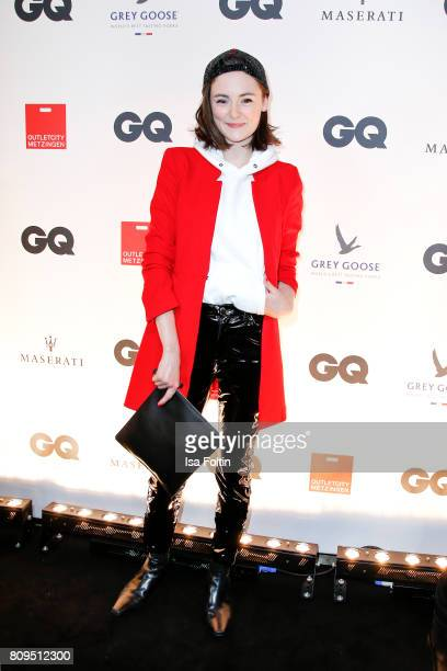 Lea van Acken attends the GQ Mension Style Party 2017 at Austernbank on July 5 2017 in Berlin Germany