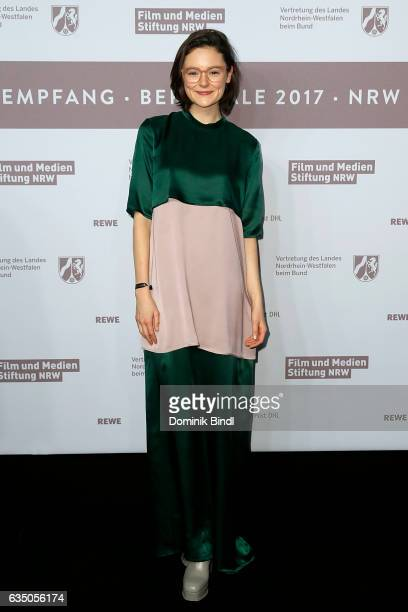 Lea van Acken attends the NRW Reception at the Landesvertretung during the 67th Berlinale International Film Festival on February 12 2017 in Berlin...