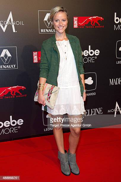 Lea Wolfram attends the 'New Faces Award Film 2014' at eWerk on May 8 2014 in Berlin Germany