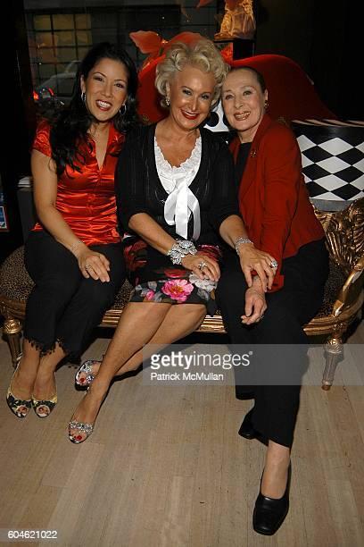 Lea Woods Friedman Beverly Feldman and Rita Gam attend JOAN JEDELL Publisher of THE HAMPTON SHEET hosts the opening of BEVERLY FELDMAN's footwear...