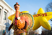 Lead float at the 89th Annual Macy's Thanksgiving Day Parade on November 26 2015 in New York City
