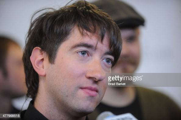 Lead Singer Tom Higgenson of the music group Plain White T's attends the Pinoy Relief Benefit Concert at Madison Square Garden on March 11 2014 in...