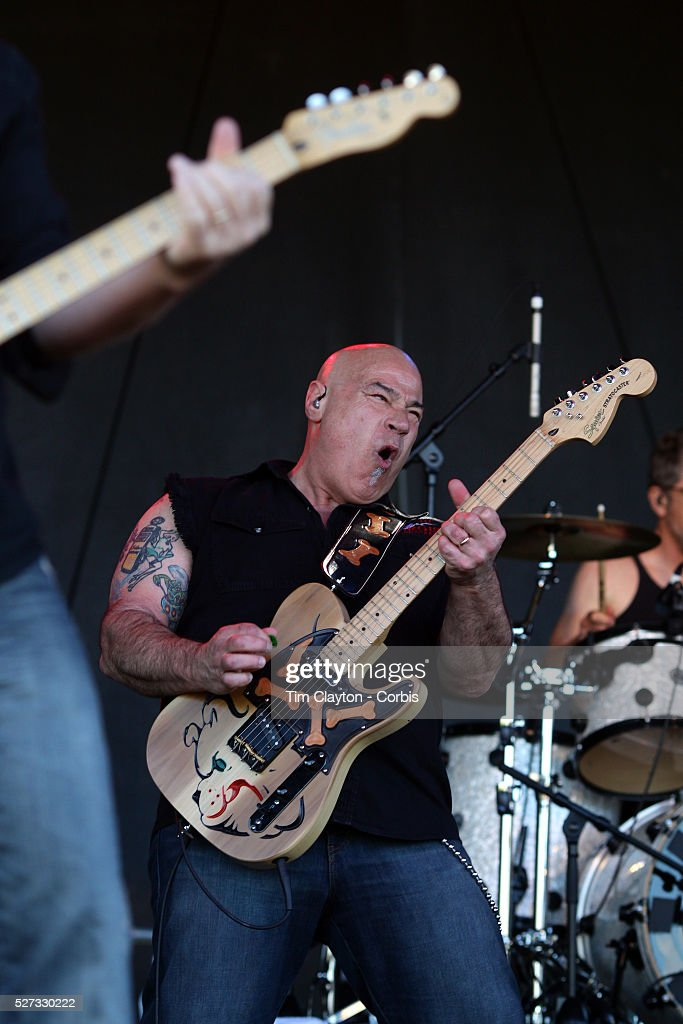Lead vocalist John Tristao playing with Creedence Clearwater Revisited performing at the Queenstown Events Centre Queenstown Otago New Zealand 5th...