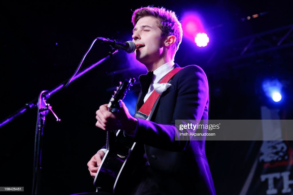 Lead vocalist Ryan Follese of Hot Chelle Rae performs onstage at The 3rd Annual Salvation Army Rock The Red Kettle Concert at Nokia Theatre L.A. Live on December 15, 2012 in Los Angeles, California.
