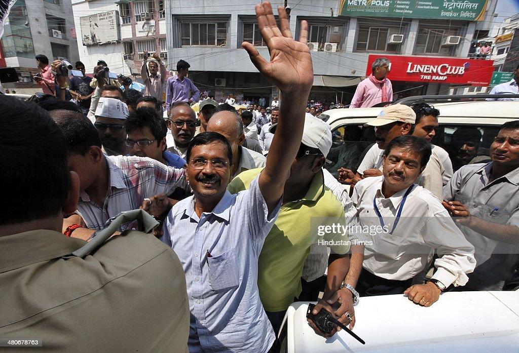 Arvind Kejriwal In Varansi | Getty Images