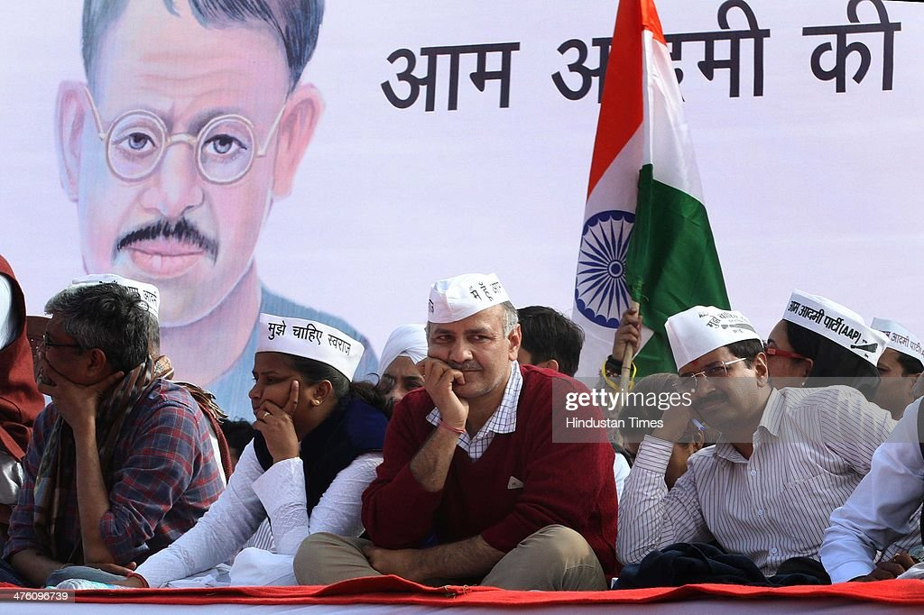 AAP Leader Arvind Kejriwal Addresses A Rally In Kanpur ...