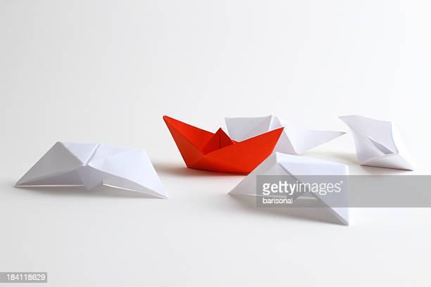 リーダーのボート