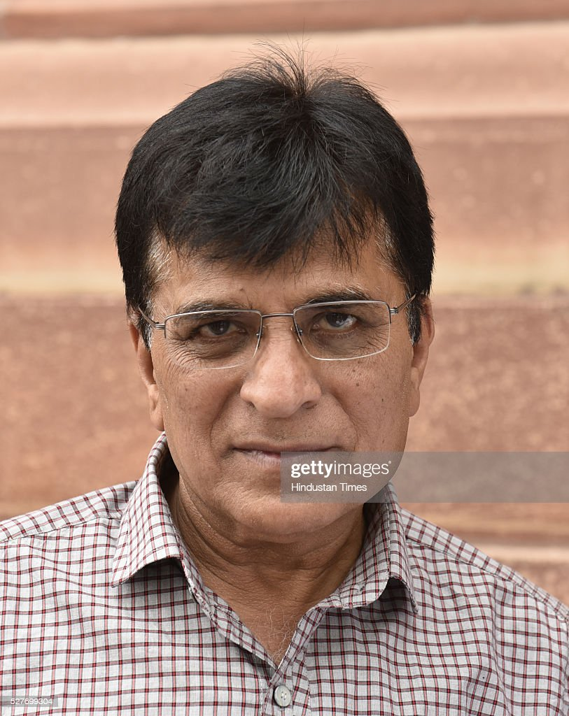 The BJP leader Kirit Somaiya outside parliament during the parliament session on May 3, 2016 in New Delhi, India. With the BJP mounting an offensive against Congress vice-president on the AgustaWestland VVIP chopper bribery case, Rahul Gandhi on Wednesday said he is happy to be targeted.