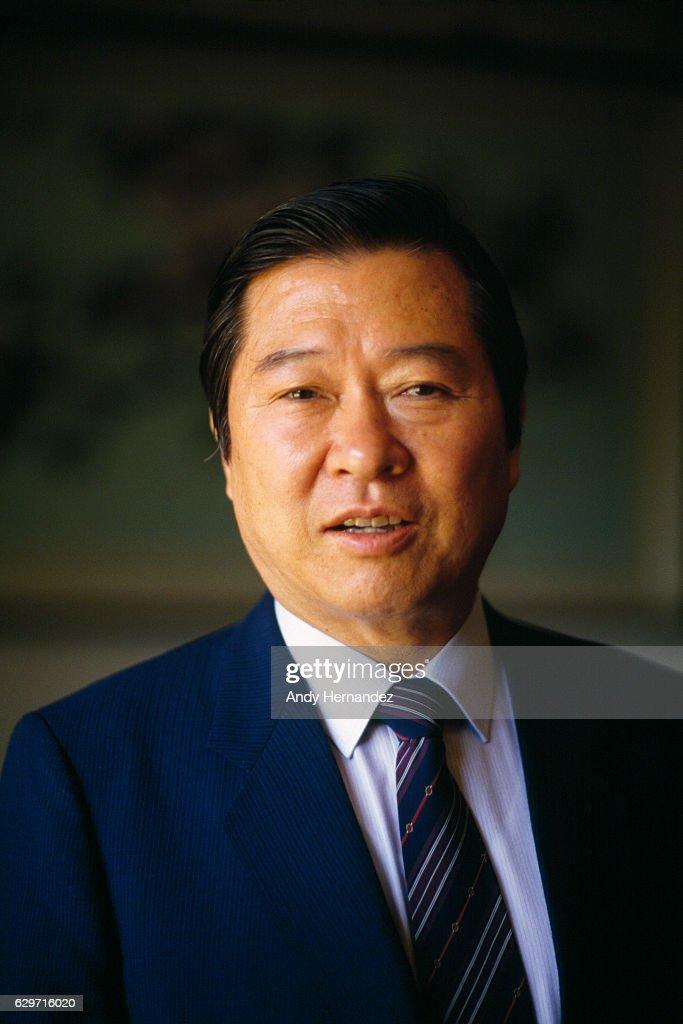 Leader of Korean opposition Kim Dae-jung.