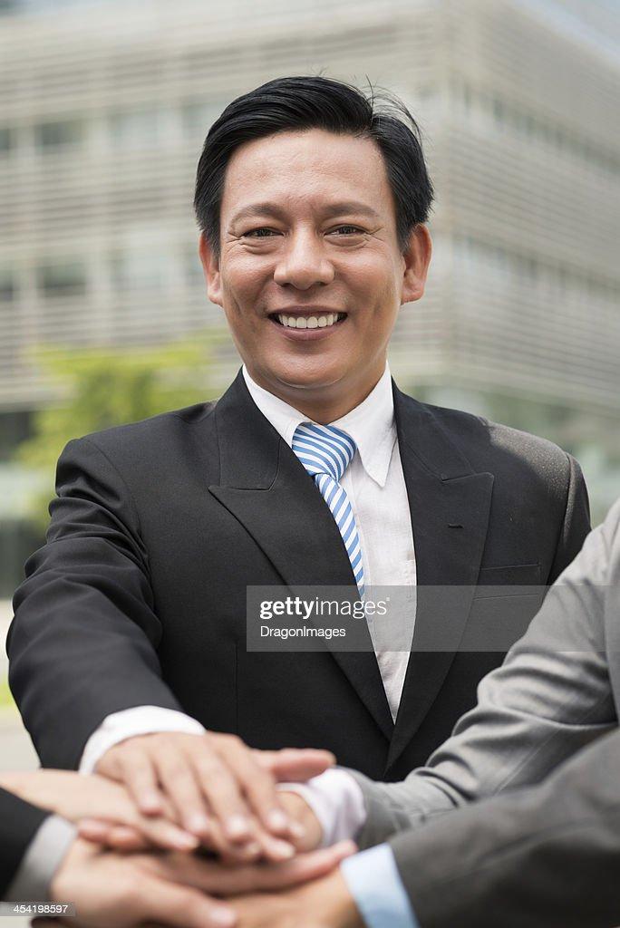 Líder da Aliança : Foto de stock