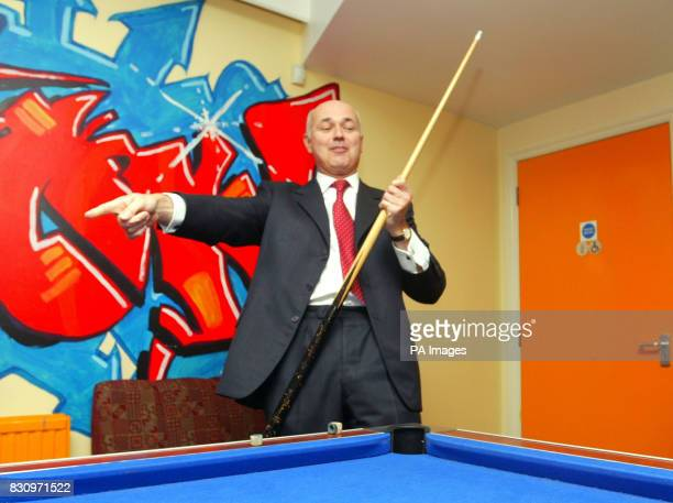 Leader of the Conservative Party Iain Duncan Smith during a visit to a YMCA Fusion Project in Bournemouth Mr Duncan Smith insisted that he was...
