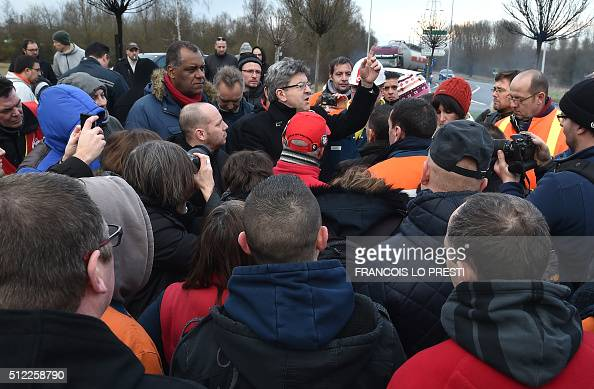 Leader of the French radical Left Party (Parti de Gauche ...