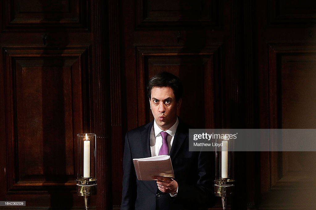 Leader of the Labour Party <a gi-track='captionPersonalityLinkClicked' href=/galleries/search?phrase=Ed+Miliband&family=editorial&specificpeople=4376337 ng-click='$event.stopPropagation()'>Ed Miliband</a> sings during the service as The Most Rev Justin Welby is enthroned as Archbishop of Canterbury at Canterbury Cathedral on March 21, 2013 in Canterbury, England. The newly appointed Archbishop of Canterbury Justin Welby is enthroned today, installing him as the 105th Archbishop of Canterbury and head of the Church of England, in front of bishops and religious of the Anglican communion from around the world, the Prime Minister David Cameron, The Prince of Wales and other dignitaries.