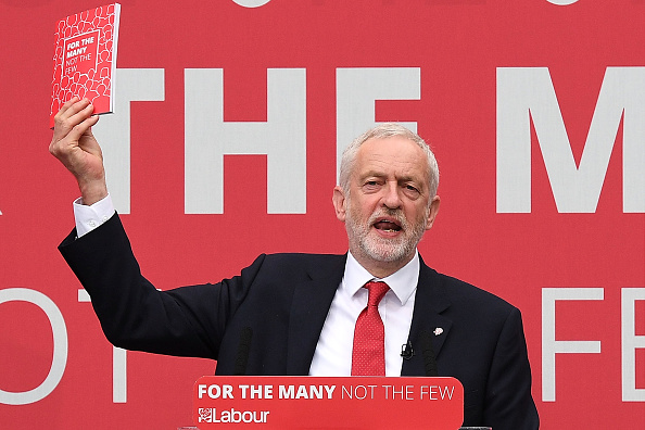 Jeremy Corbyn Launches The Labour Party Election Manifesto : News Photo