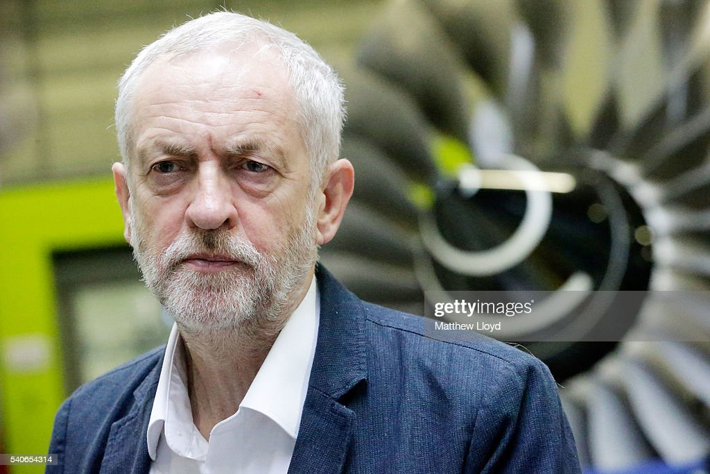 Labour Leader Jeremy Corbyn Lays Out Reasons To Vote Remain In EU Referendum