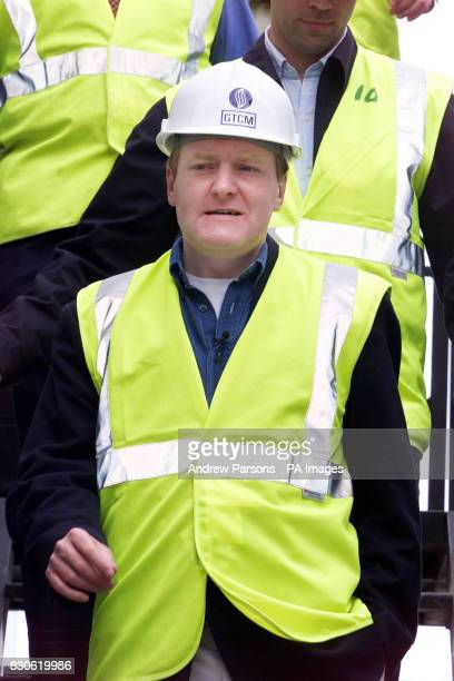 Leader of the Liberal Democrats Charles Kennedy during his visit to The Beddington ZeroEnergy Site in Hackbridge Carshalton Surrey on the latest leg...