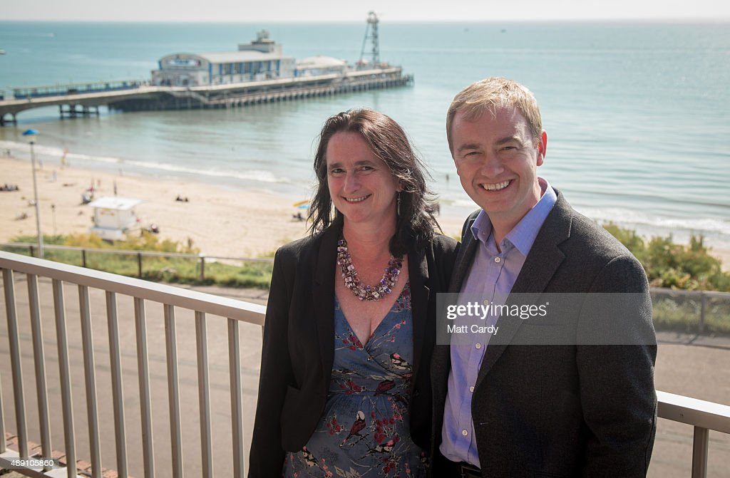 Leader of the Liberal Democrats Tim Farron and his wife Rosemary arrive to speak with media ahead of the Liberal Democrats annual conference on September 19, 2015 in Bournemouth, England. The Liberal Democrats are currently holding their annual conference using the hashtag #LibDemfightback in Bournemouth. The conference is the first since the party lost all but eight of its MPs in May's UK general election, however after gaining 20,000 new members since May, the party is expecting a record attendance at the event being held at the Bournemouth International Centre.
