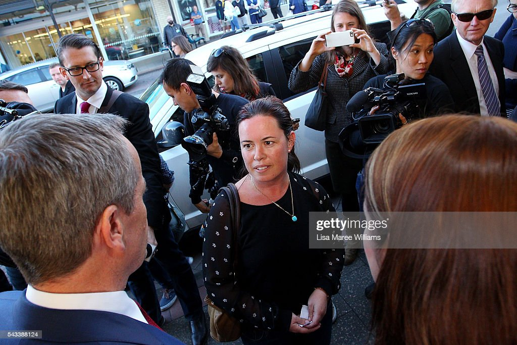 Leader of the Opposition, <a gi-track='captionPersonalityLinkClicked' href=/galleries/search?phrase=Bill+Shorten&family=editorial&specificpeople=606712 ng-click='$event.stopPropagation()'>Bill Shorten</a> and local candidate <a gi-track='captionPersonalityLinkClicked' href=/galleries/search?phrase=Fiona+Phillips&family=editorial&specificpeople=867643 ng-click='$event.stopPropagation()'>Fiona Phillips</a> meet locals during a street walk on June 28, 2016 in Nowra, Australia.The latest Newspoll shows the Coalition has pulled ahead of the Labor Party, less than a week out from the July 2 election. On a two-party preferred basis, the Coalition now leads Labor 51-49, breaking the deadlock from the last poll.
