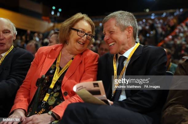 Leader of the Scottish Liberal Democrats Willie Rennie before a speech by Tim Farron MP at the Liberal Democrats conference at the Bournemouth...