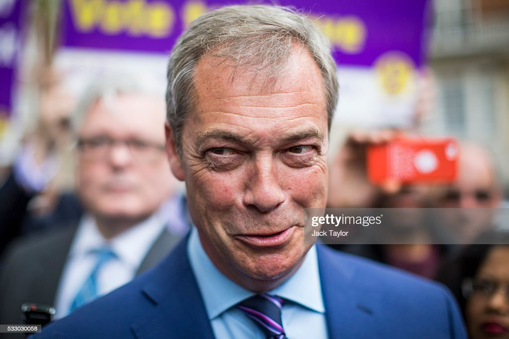 UKIP Launch EU Referendum Tour Bus