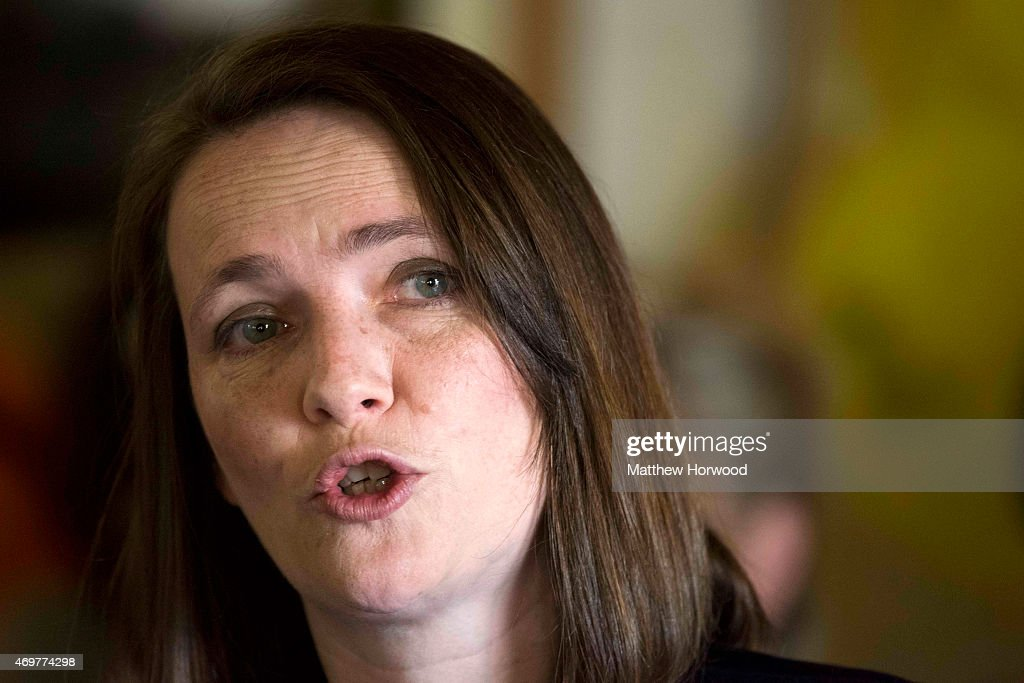 Leader of the Welsh Liberal Democrats <b>Kirsty Williams</b> speaks during the <b>...</b> - leader-of-the-welsh-liberal-democrats-kirsty-williams-speaks-during-picture-id469774298