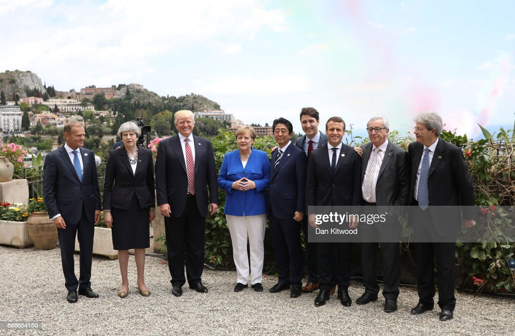 World Leaders Gather in Sicily for G7 Summit